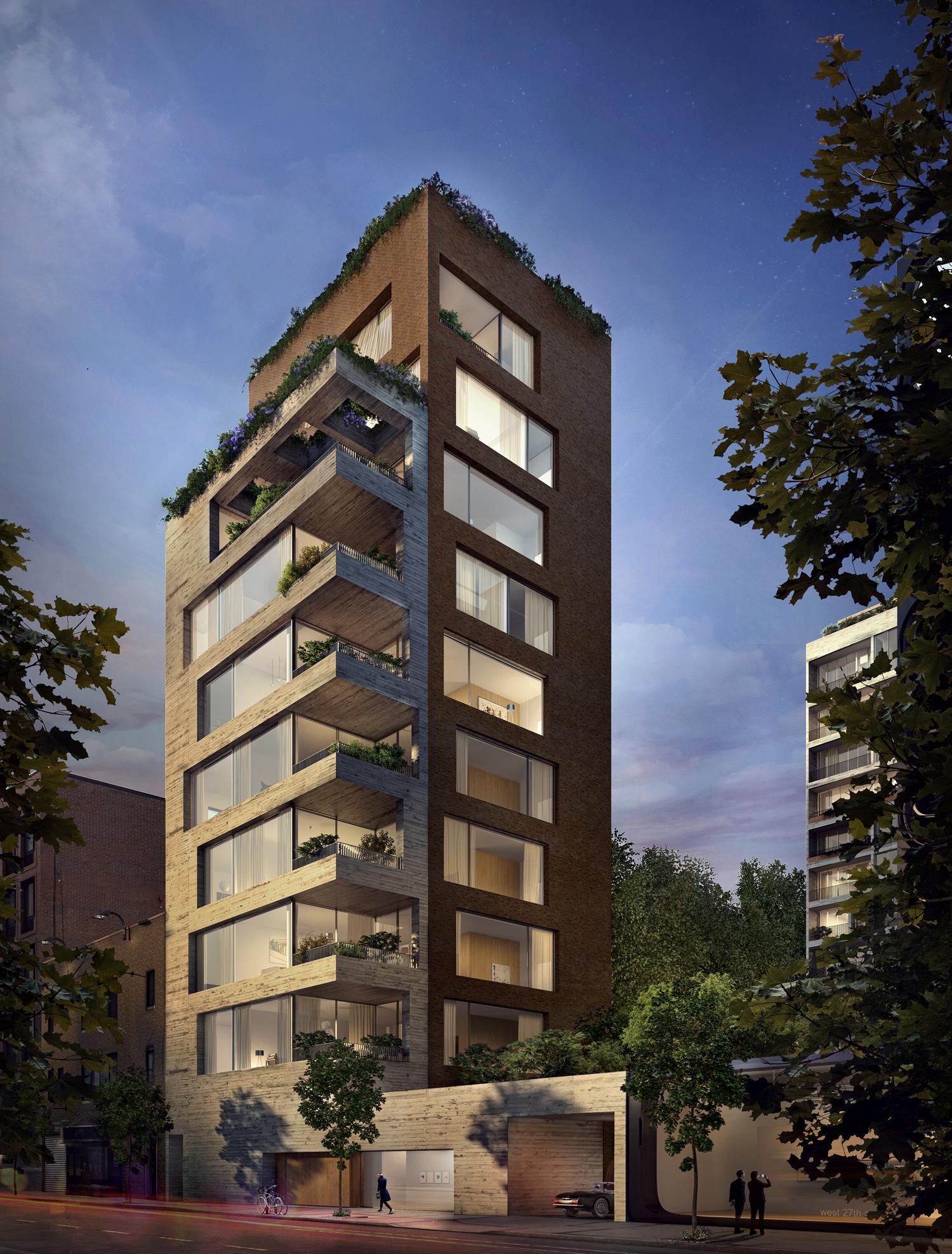 Full Reveal for 527 West 27th Street, aka Jardim, Designed ...