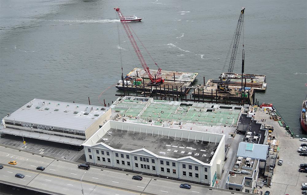 Pier 17 site. June 2015.
