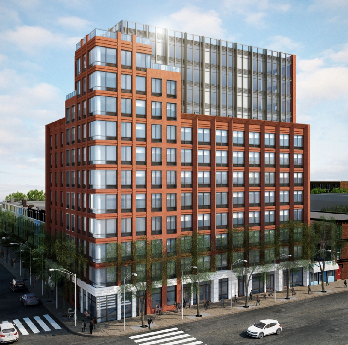 12-Story, 105-Unit Mixed-Use Building Rising At 470 Fourth