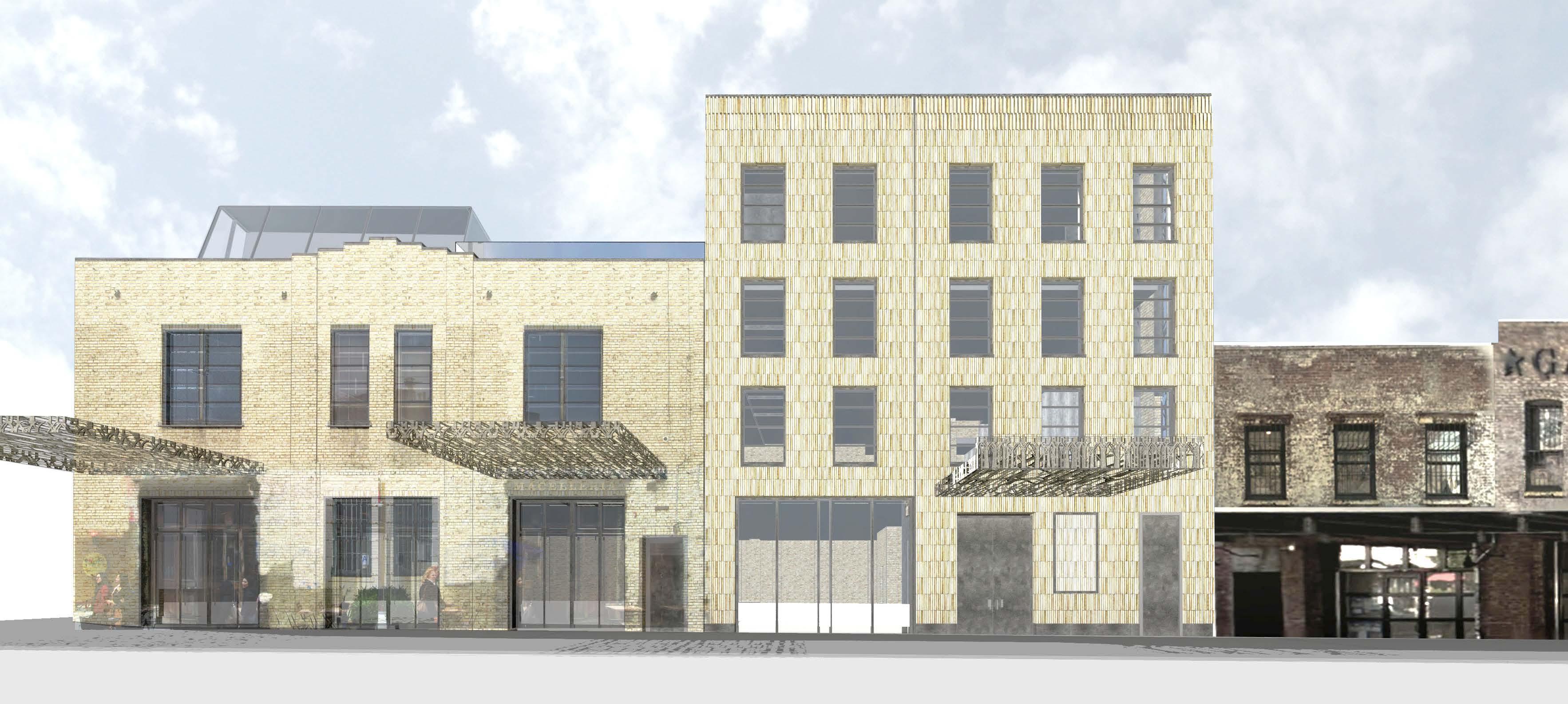 46-50 Gansevoort Street, rendering by BKSK Architects