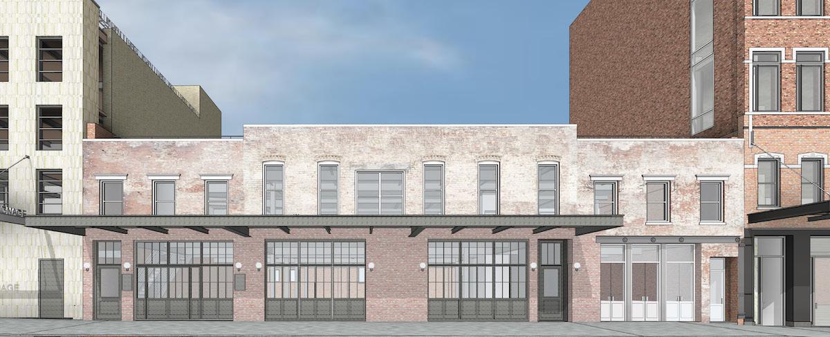 52-58 Gansevoort Street, rendering by BKSK Architects