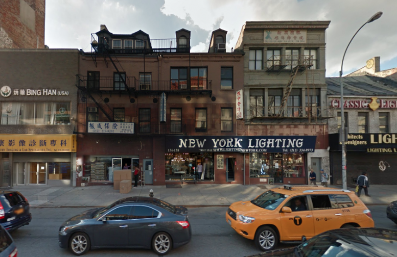 Permits Filed Hotel And Apartments At 138 Bowery Little
