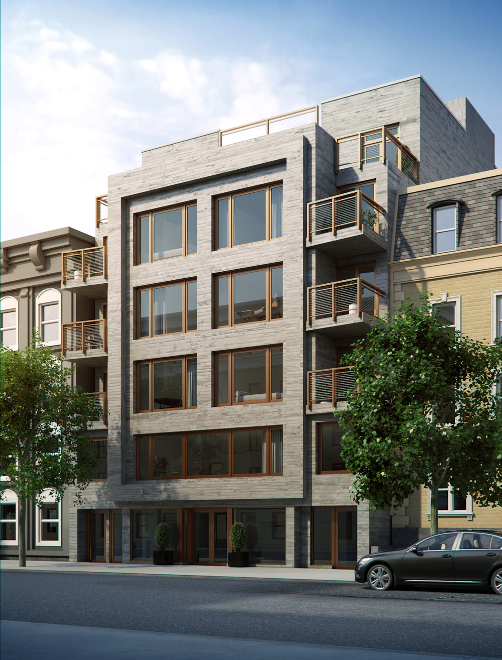 176 Division Avenue, rendering via B+B Capital