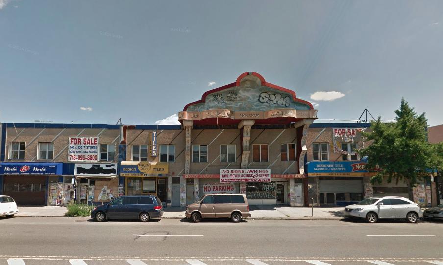1987-2003 Coney Island Avenue in 2011, image via Google Maps
