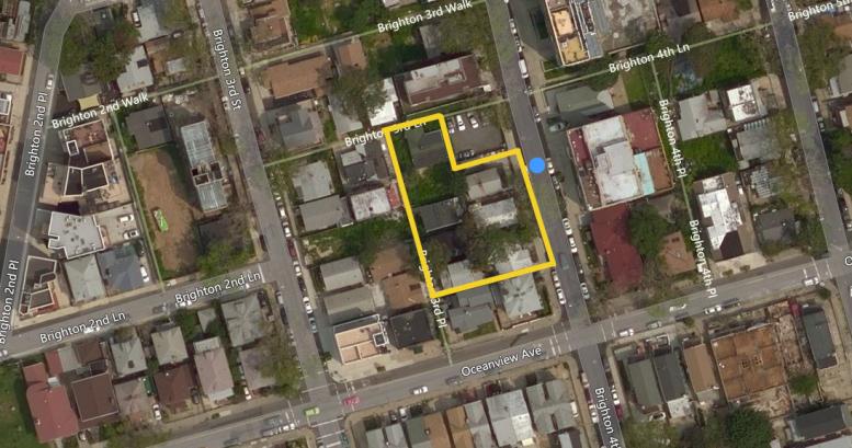 2960 Brighton 4th Street, image via Bing Maps