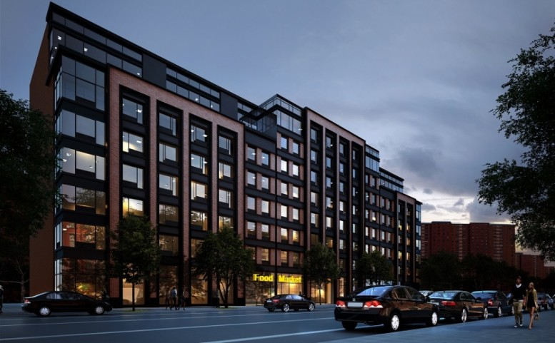 325 Lafayette Avenue, rendering by Aufgang Architects