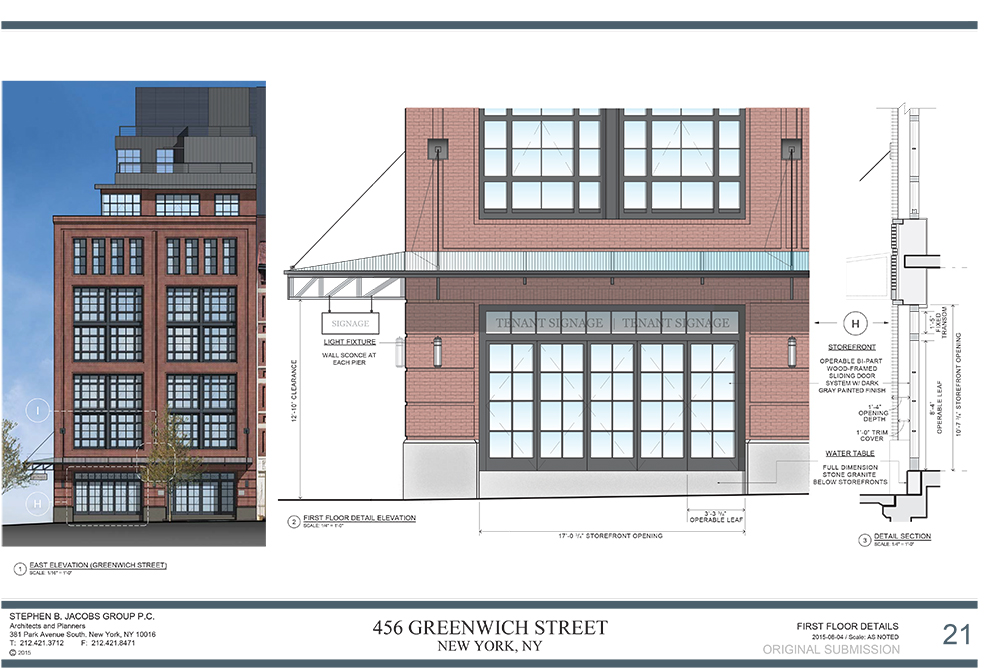 456 Greenwich Street - Supplemental LPC Submission_2015-08-20 Be