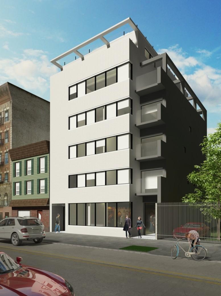 650 Metropolitan Avenue, rendering by Domo Architecture