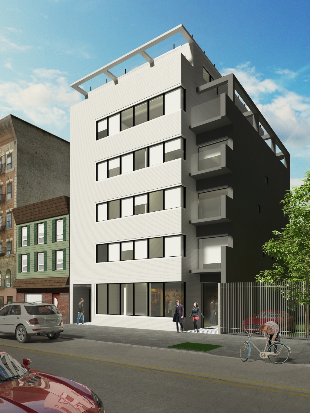 650 Metropolitan Avenue, rendering by Domo Architecture