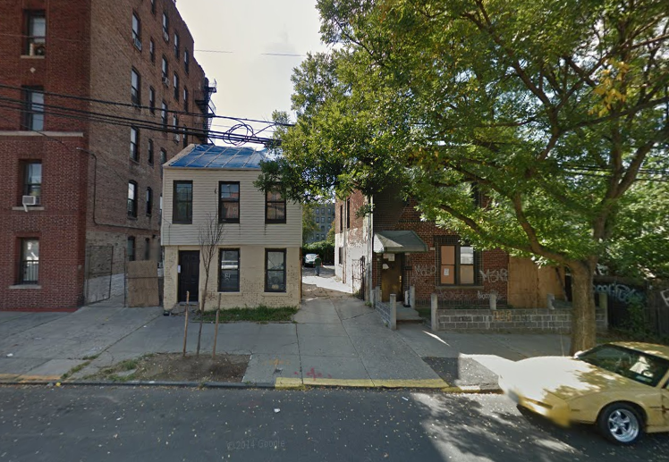 772 East 182nd Street, image via Google Maps