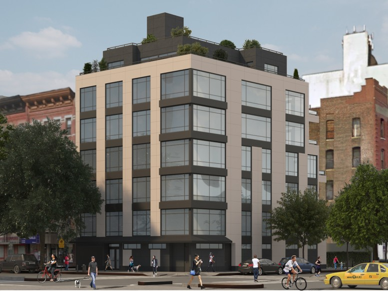 952 Columbus Avenue, rendering by Pinner Architecture