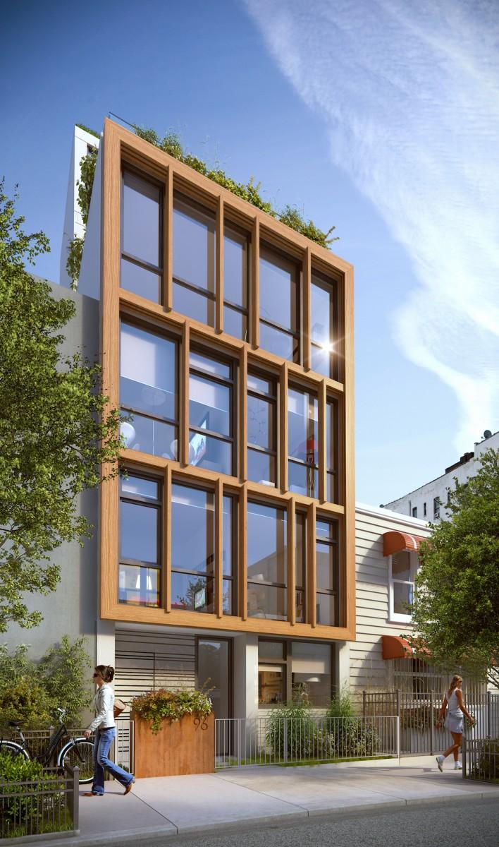 96 16th Street, rendering by Jorge Mastropietro Atelier