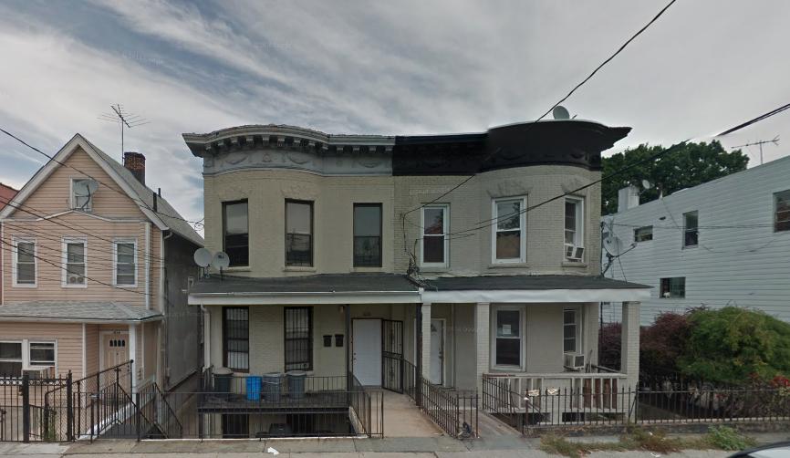Van Buren Street sunken houses