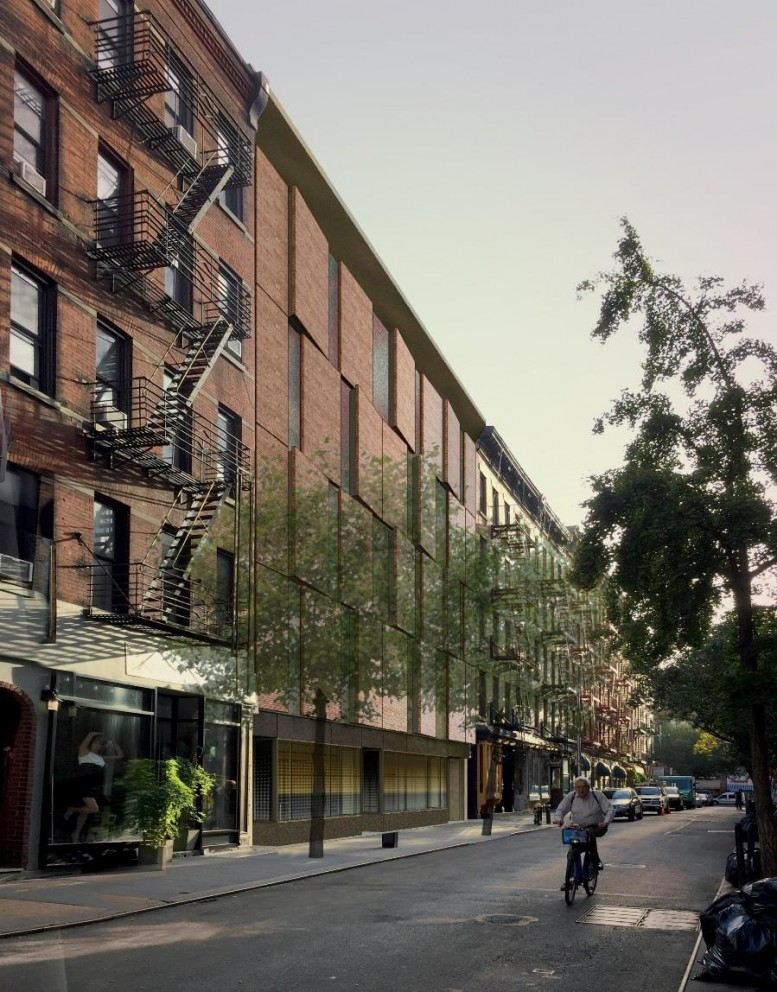 Proposed Cornelia Street facade of the IFC Center (not approved)