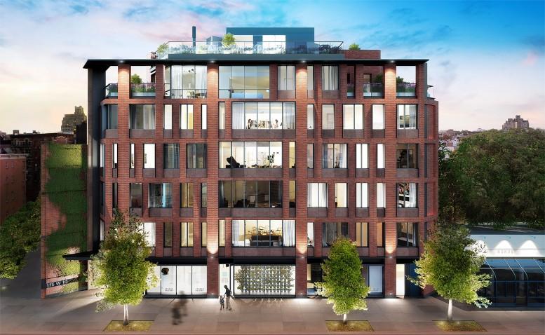 175 West 10th Street, rendering by Paperfarm