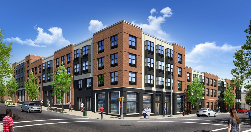 1873 Starr Street/176 Woodward Avenue, rendering by Aufgang Architects