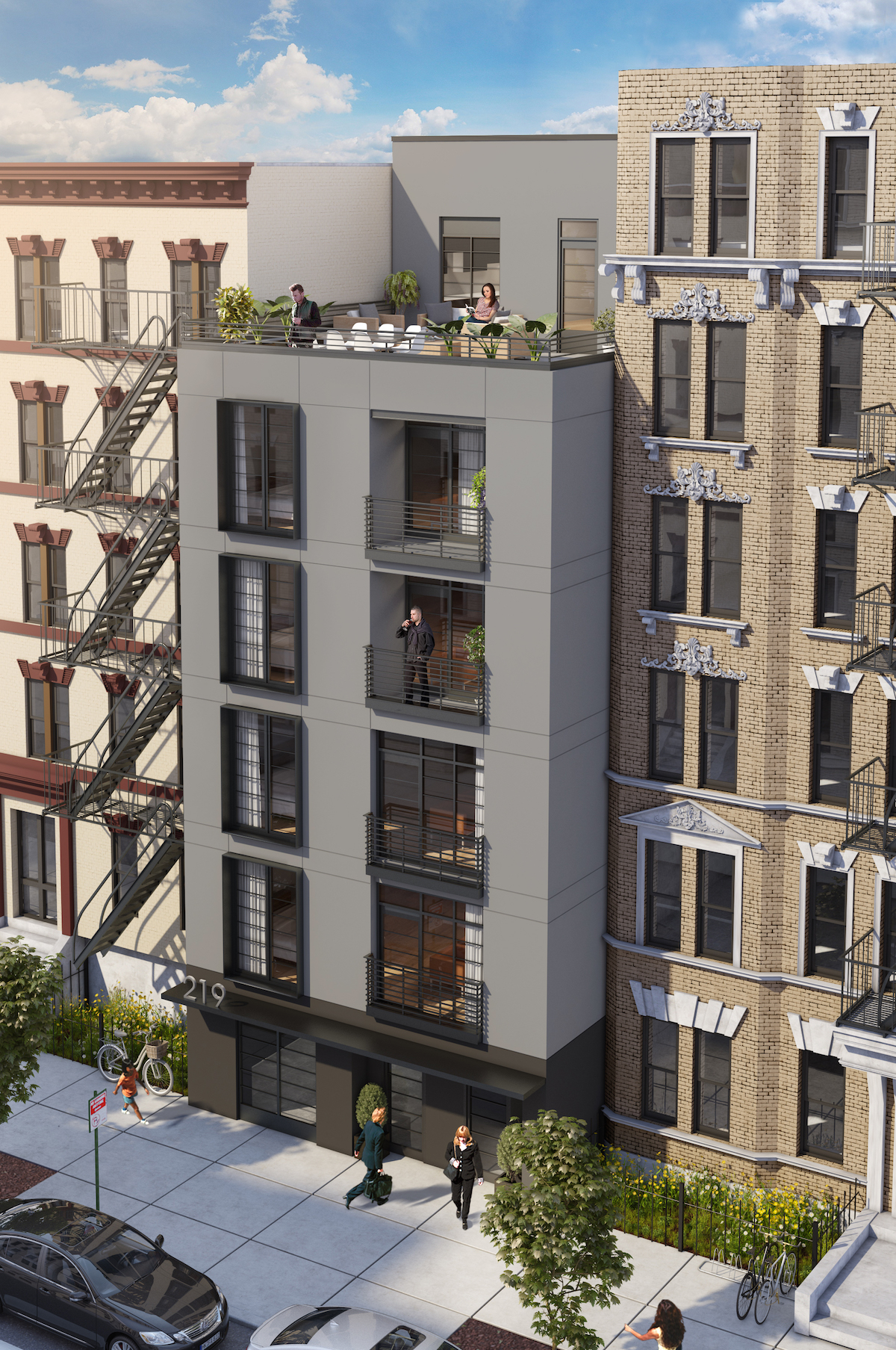 219 South 3rd Street, rendering via TerraCRG