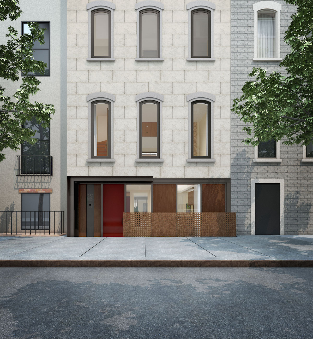 251 East 61st Street, rendering by TRA Studio