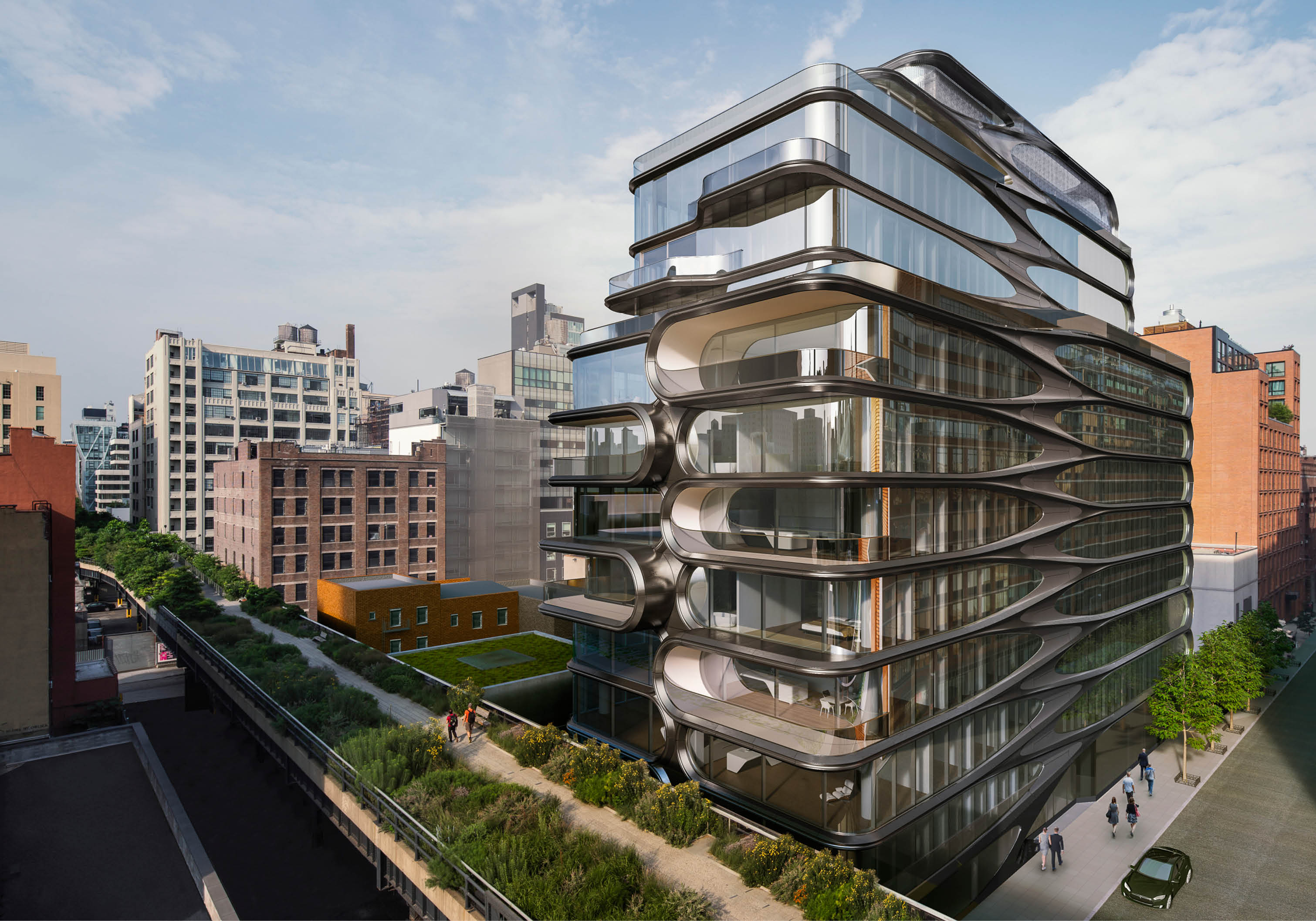 New Renderings Update For 11 Story Condo Project At 520 West 28th Street West Chelsea New