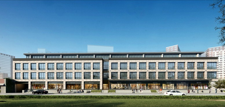626 Sheepshead Bay Road, rendering by S9/Perkins Eastman