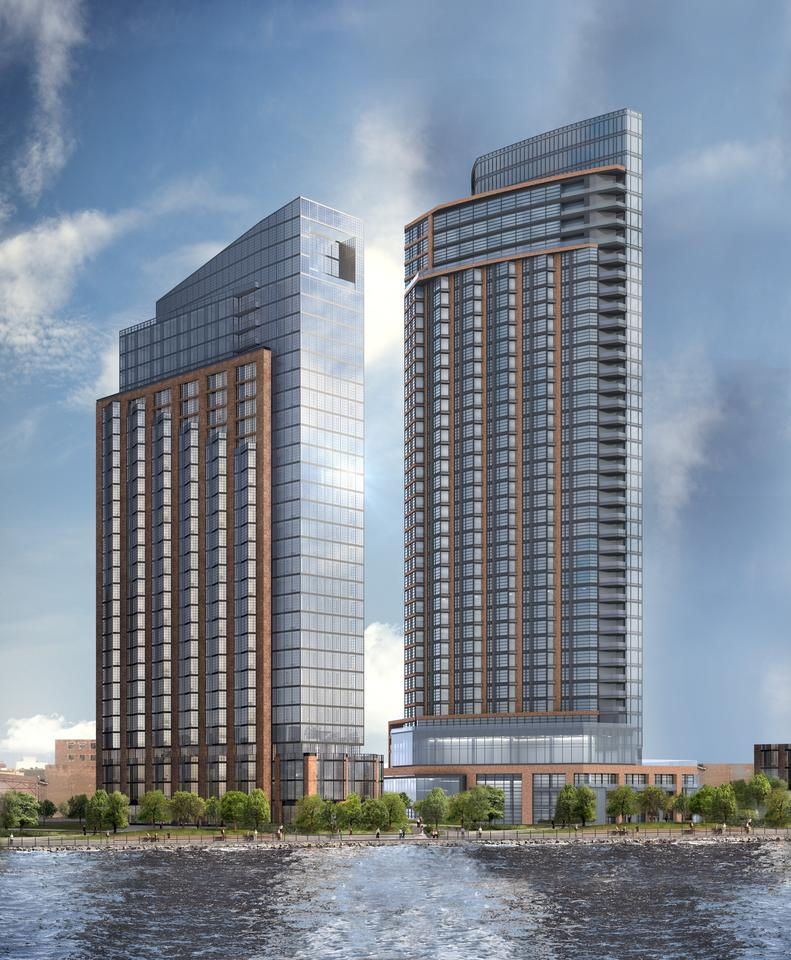 Brookfield Files Permits for 31-Story Tower at 1 Bell Slip in Greenpoint, Brooklyn - New York YIMBY