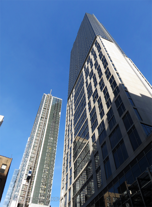 855 6th Avenue is on the left; the Eventi is on the right