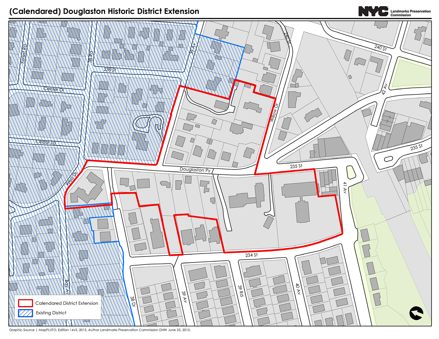 Proposed Douglaston Historic District Extension