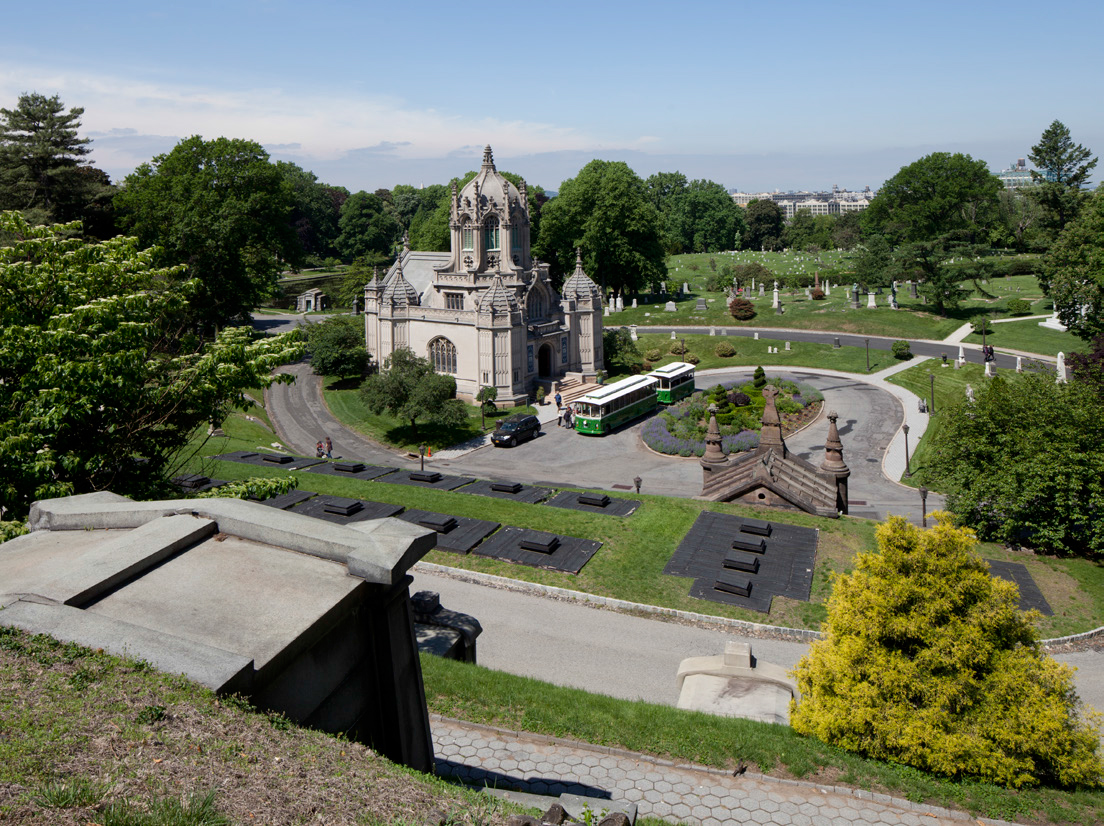 Green-Wood Cemetery, 2014. Photo via LPC.