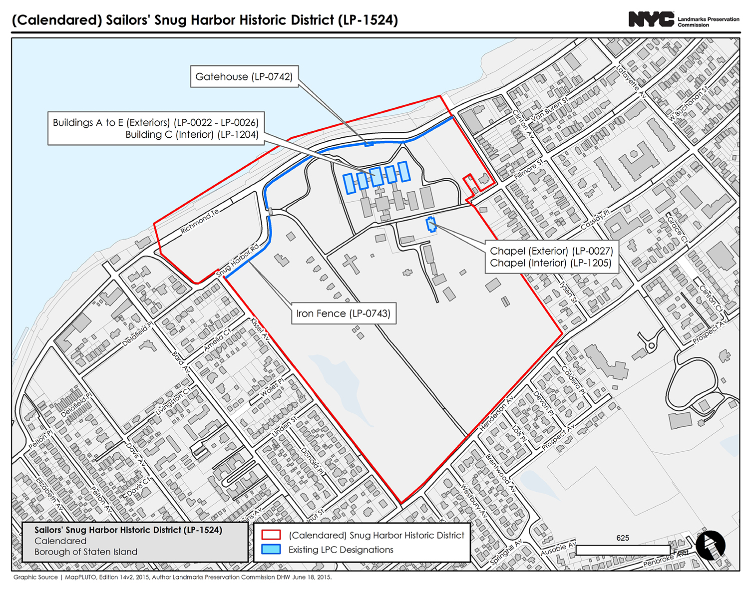 Proposed Sailors' Snug Harbor Historic District