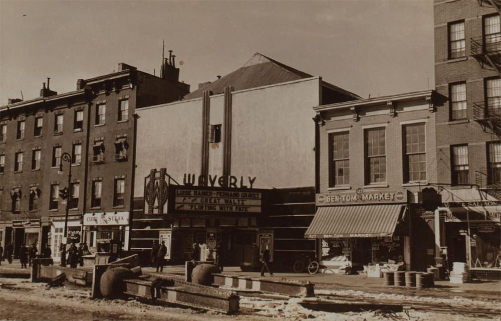 Waverly Theater, 1937.