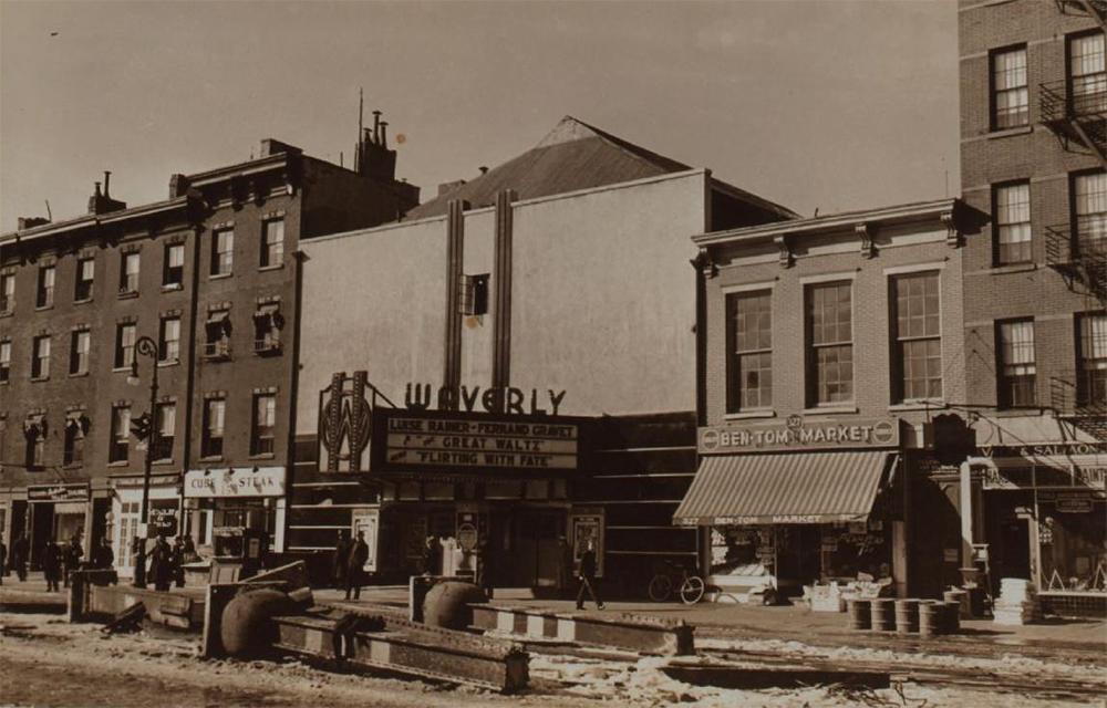 Waverly Theater, 1937.