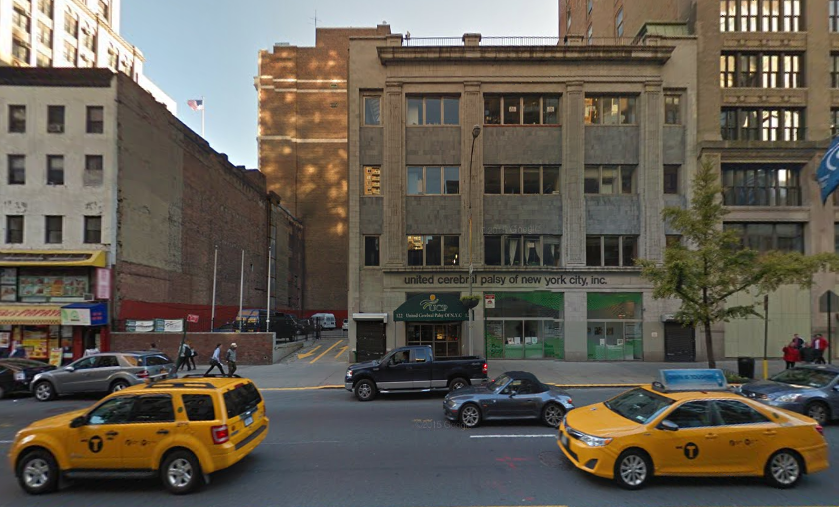 122 East 23rd Street, image via Google Maps