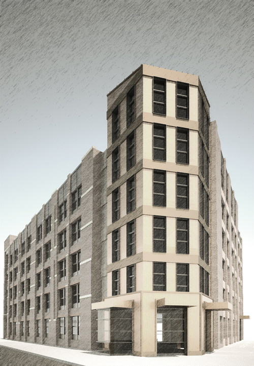 Elegant 123 Clara Street, Rendering By Zambrano Architectural Design