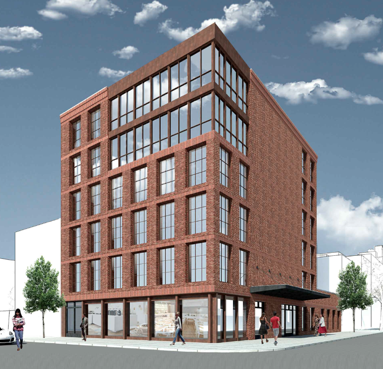 144 West Street, rendering by GF55 Partners