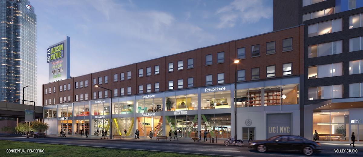 27-35 Jackson Avenue, rendering via RKF