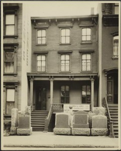 412 East 85th Street, 1932. Courtesy LPC.