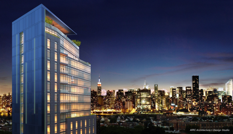 52-09 31st Place, rendering by ARC Architecture and Design