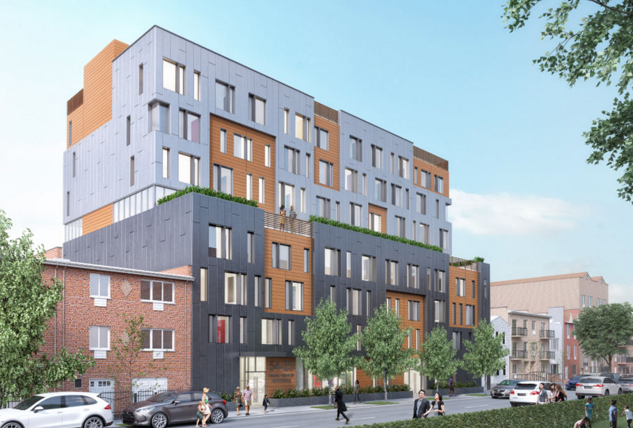 54-15 101st Street, rendering by Think Architecture and Design