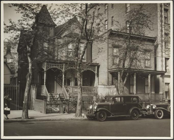 563-565 West 170th Street, photo by  Charles von Urban via the Museum of the City of New York