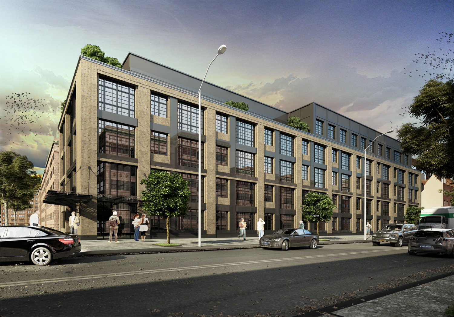 Rendering for 801-819 Wyckoff Avenue. Via EPIC Commercial Realty.