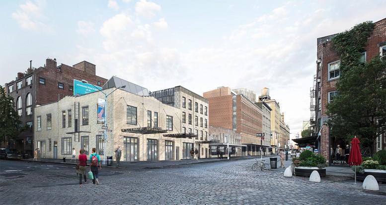 Rendering of the proposed Gansevoort Street