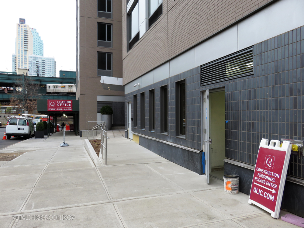 24th Street frontage