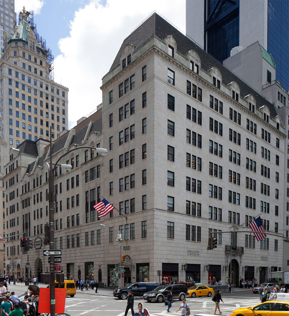 A recent photo of Bergdorf Goodman. Photo courtesy LPC.