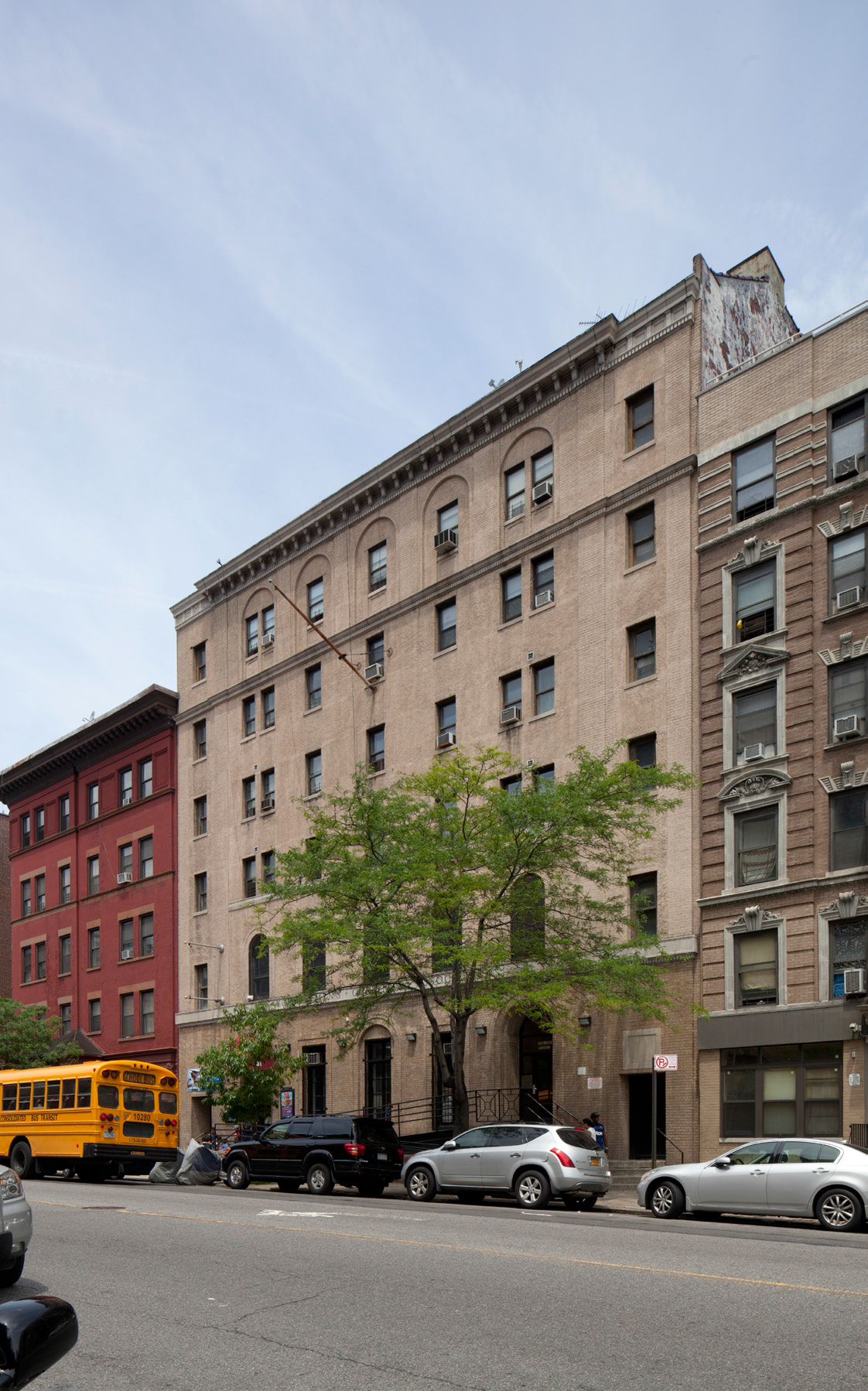 Harlem YMCA. LPC photo.
