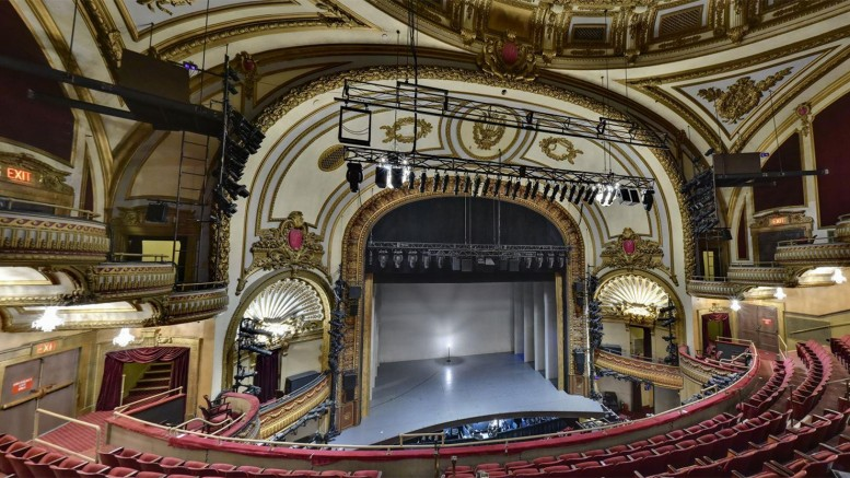 Palace Theater interior.