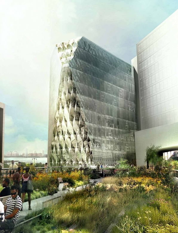 40 10th Avenue, rendering by Studio/Gang Architects