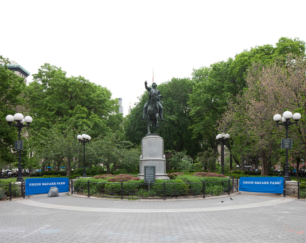 Union Square Park. Photo courtesy LPC.