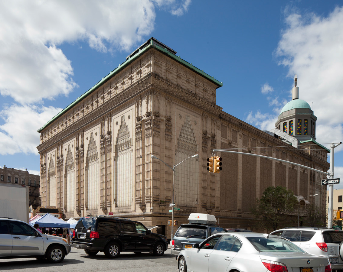The former Loew's 175th Street Theater, now United Palace. LPC photo.