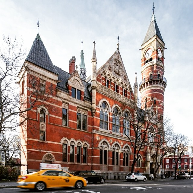 Jefferson Market Library. Photo by Pavel Bendov via Jefferson Market Library.