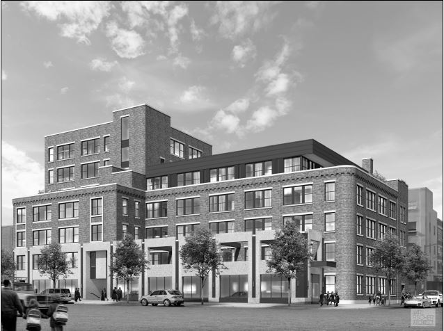 12 Franklin Avenue, rendering by Karl Fischer Architect